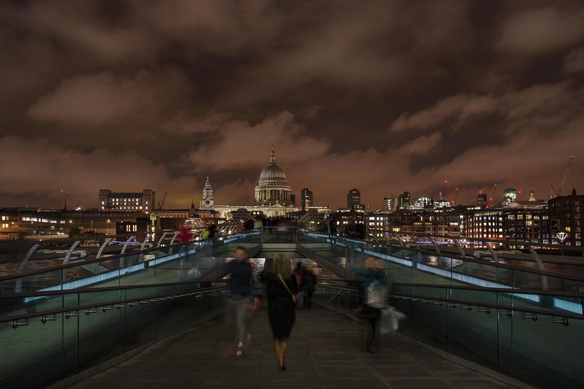 Millenium Bridge - von Karl Eißner