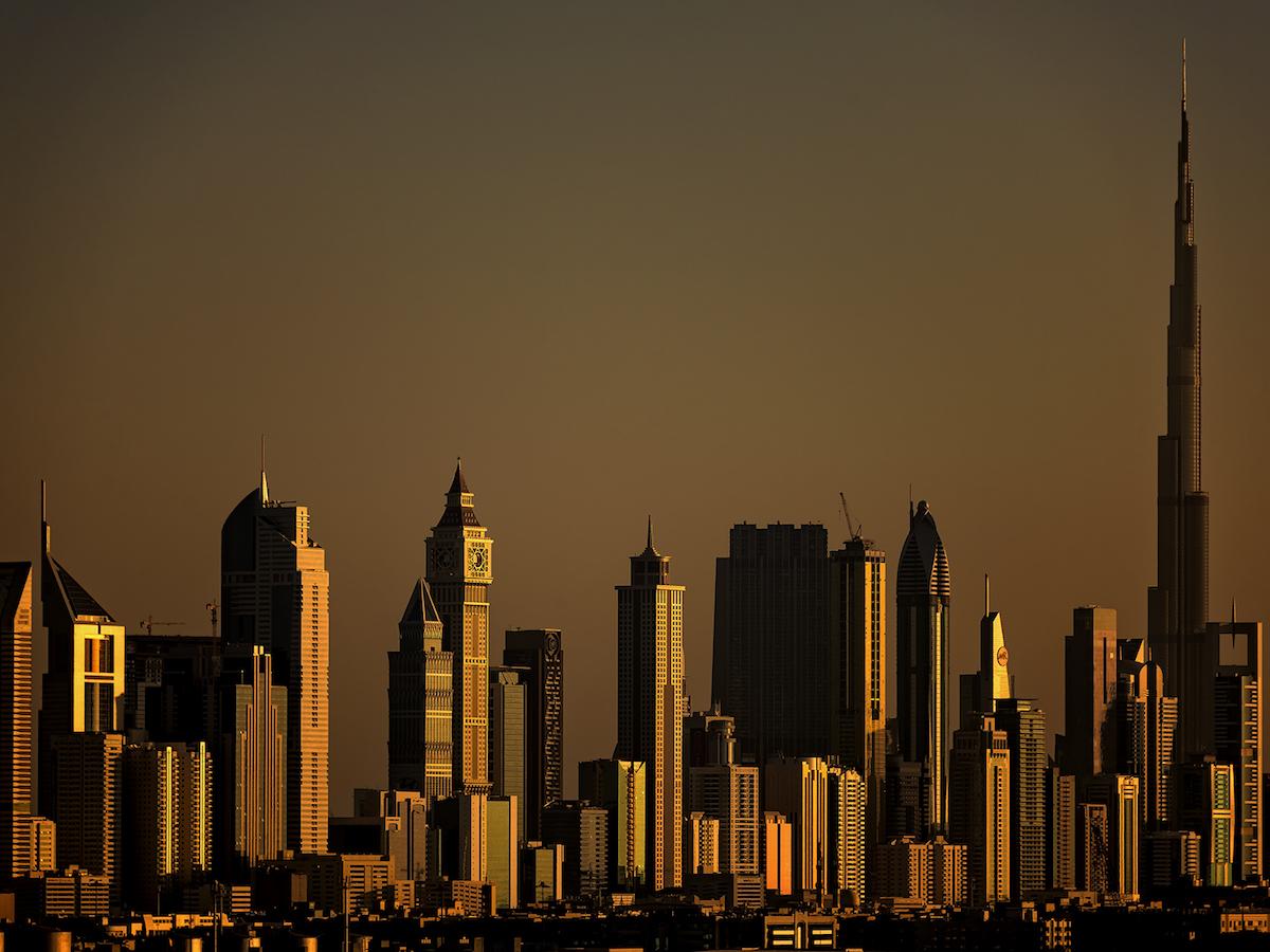 Dubai - Blick vom Schiff - von Johannes Heumann