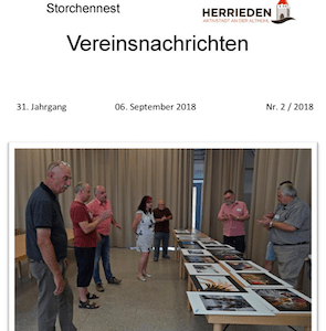 Vereinsnachrichten 2018/2