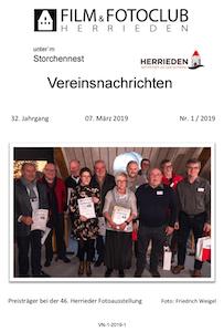 Vereinsnachrichten 2019/1