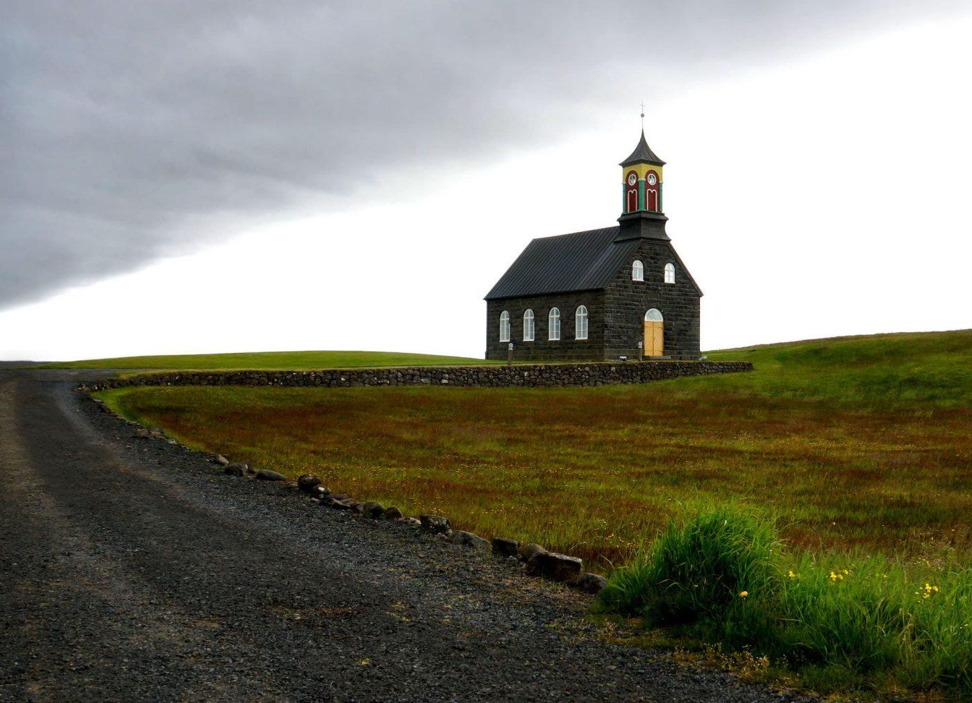 Bild des Monats August, Kirche im Norden, Karl Eissner