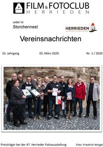 Vereinsnachrichten 2020/1