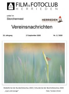 Vereinsnachrichten 2020/2